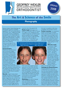 Art & science of the smile 4 - Photography