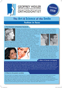 Art & science of the smile 2 - Fashions in Faces