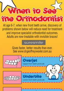 When to see the orthodontist